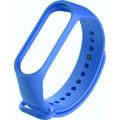Ремешок силиконовый для Mi Band 4, синий
