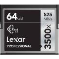 Карта памяти Lexar CompactFlash Professional 3500x CFAST2.0 (525/445MB/s) 64GB