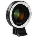 Адаптер Viltrox EF-E II Speed Booster для Canon EF на байонет Sony E-mount