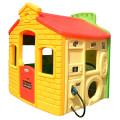 Little Tikes Мульти-домик (спорт, школа, заправка, магазин) желто-зеленый