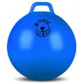 Мяч гимнастический с ручкой INDIGO, IN093, Голубой, 65 см