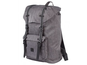 Рюкзак Brauberg молодежный с отд. для ноутбука, Кантри, серый меланж, 41х28х14 см