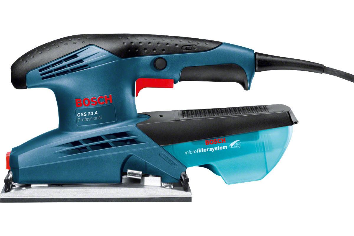 Шлифмашина плоская Bosch GSS 23 A (0.601.070.400)  190Вт 12000об/мин 93x185мм