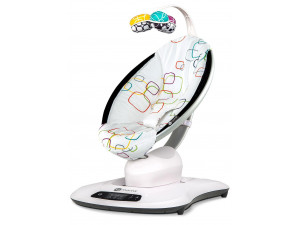 4Moms MamaRoo 4.0 - кресло-качалка мульти плюш