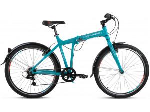 """Велосипед 26"""" Forward Tracer 1.0 Бирюзовый Матовый 6 ск17-18 г 19'"""