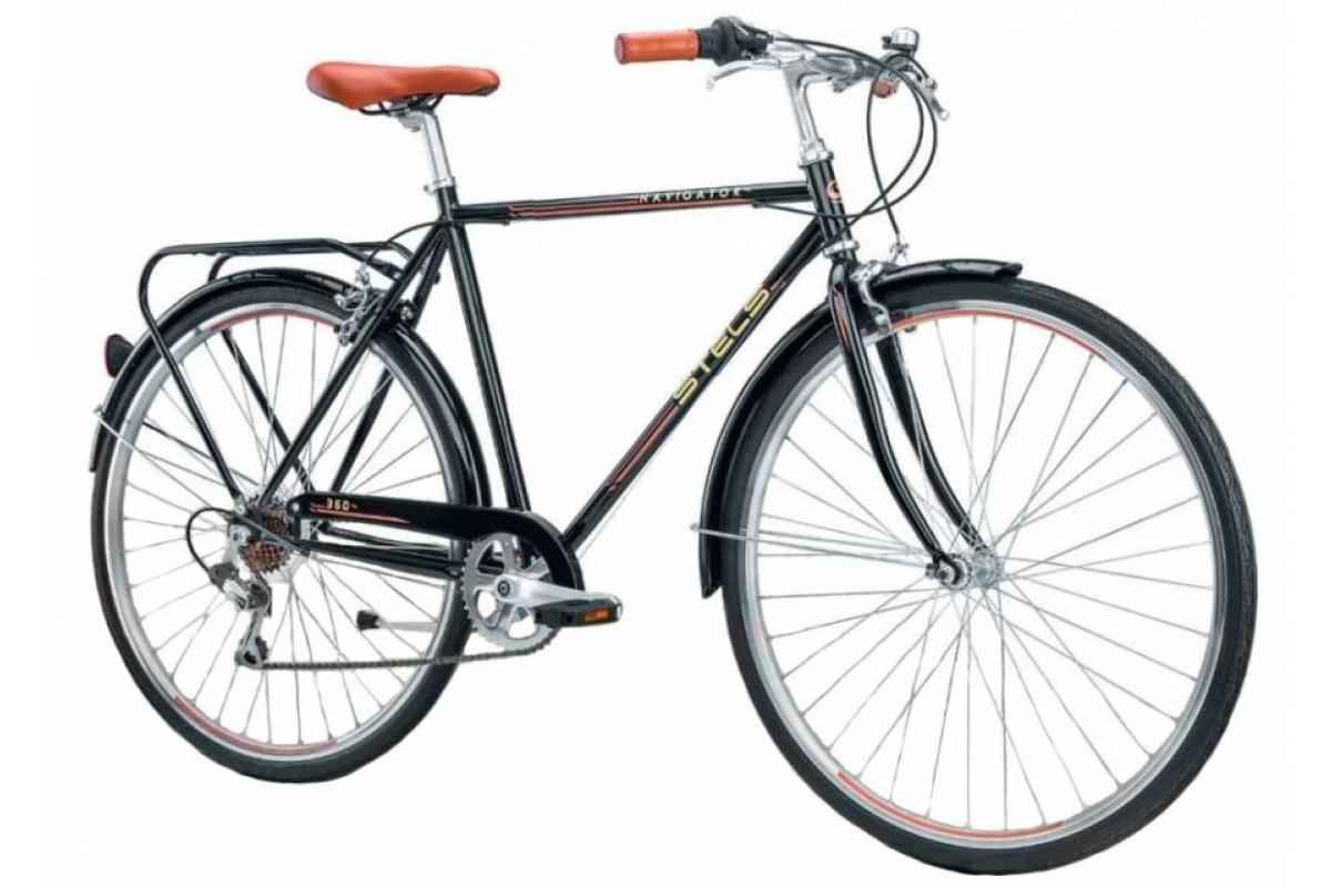"""Велосипед Stels Navigator 28"""" 360 V010 Черный (LU088238) 20,5"""""""