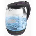 Чайник Scarlett SC-EK27G59 1.8л. 2200Вт черный/фиолетовый (стекло)