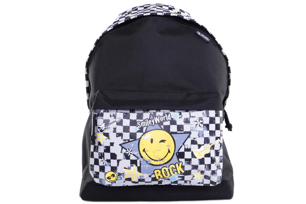 Herlitz Be.Bag Classic Smiley - детский рюкзакWorld Pop