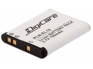 Аккумулятор DigiCare PLN-EL19 / EN-EL19 для CoolPix S6400, S2500, S2550, S2600, S3300, S4300, S4150