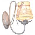 Светильник настенный J-LIGHT FLEUR E14X1X60W ANTIQUE WHITE 1102/1W