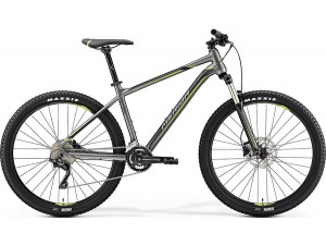 "Велосипед Merida Big Seven 300 SilkAnthracite/Green (Black) 2019 S(15"")(72659)"