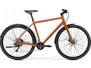 Велосипед Merida Crossway Urban 500 GlossyCopper/ReflectiveBrown 2019 L(55cm)(77858)