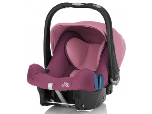 Детское автокресло Britax Roemer Baby-Safe Plus SHR II Wine Rose Trendline розовый