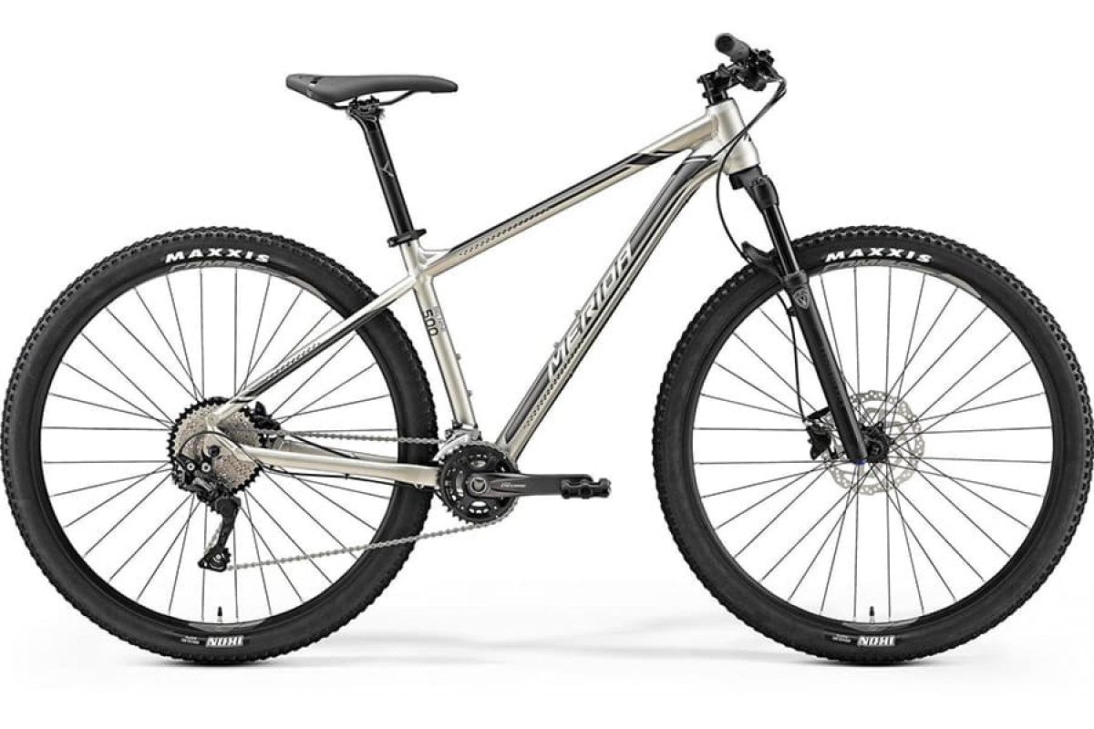 "Велосипед Merida Big Nine 500 Silk Titan (Silver/Black) 2019 L(18,5"")(75072)"