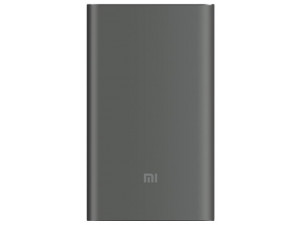 Внешний аккумулятор Xiaomi Mi Power Bank Pro 10000 mah Quick Charge серый