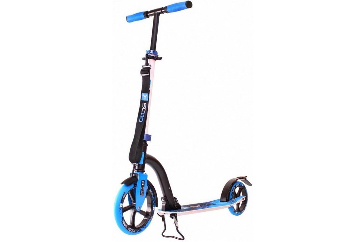 Y-Scoo RT 230 Slicker Technology - городской самокатy синий
