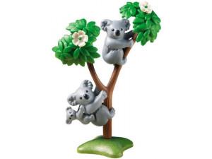 Playmobil Конструктор Зоопарк: Семья Коал