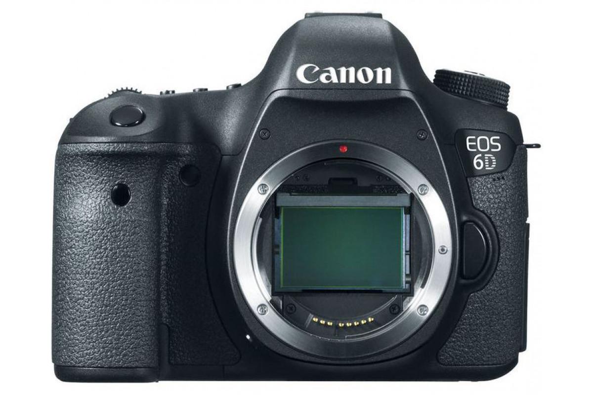 Зеркальный фотоаппарат Canon EOS 6D Body X3662