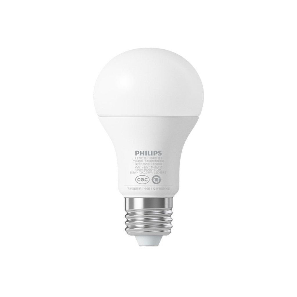 Wi-Fi лампочка Xiaomi  Philips zhirui bulb light