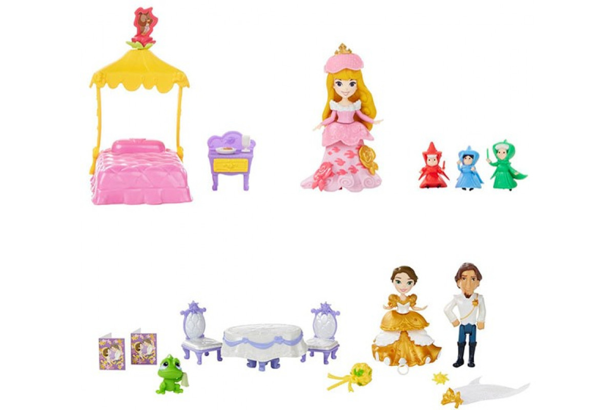 Disney Princess Принцесса и сцена из фильма Hasbro игровой набор