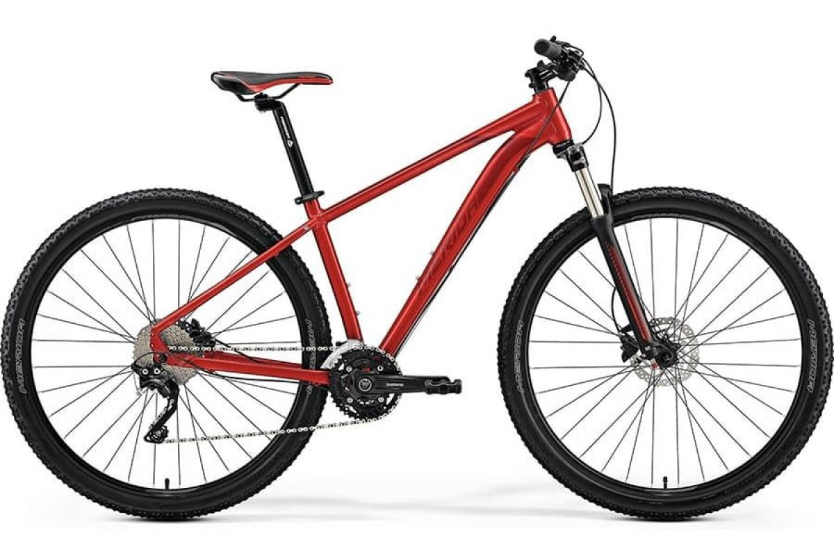 "Велосипед Merida Big Nine 80-D SilkRed (DarkRed) 2019 M(17"")(85670)"