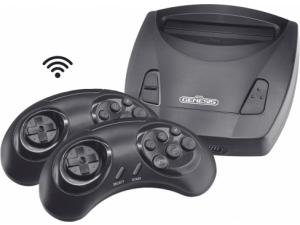 Игровая приставка Retro Genesis 8 Bit Junior Wireless + 300 игр (AV кабель, 2 беспроводных джойстика)