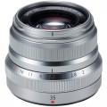 Объектив Fujifilm XF 35mm f/2 R WR серебро