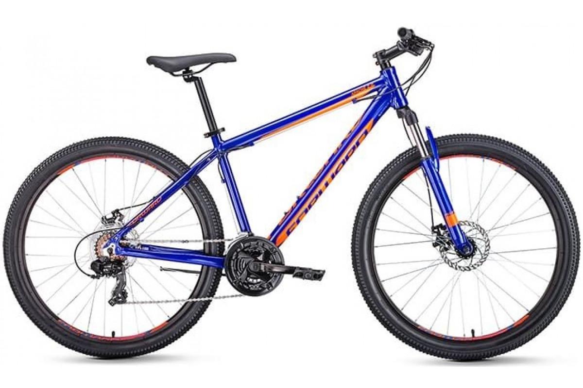 "Велосипед 27.5"" Forward Apache 2.0 Disc Синий/Оранжевый 18-19 г 15'"