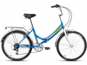 "Велосипед 24"" Forward Valencia 2.0 6 ск 17-18 г 16' Синий"