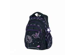 Walker Fun - рюкзак школьный Spring Fever, 31х45х20см, черный