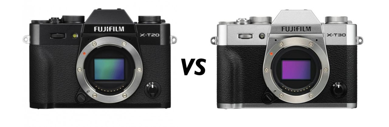 Fujifilm X-T20 против X-T30: 9 отличий