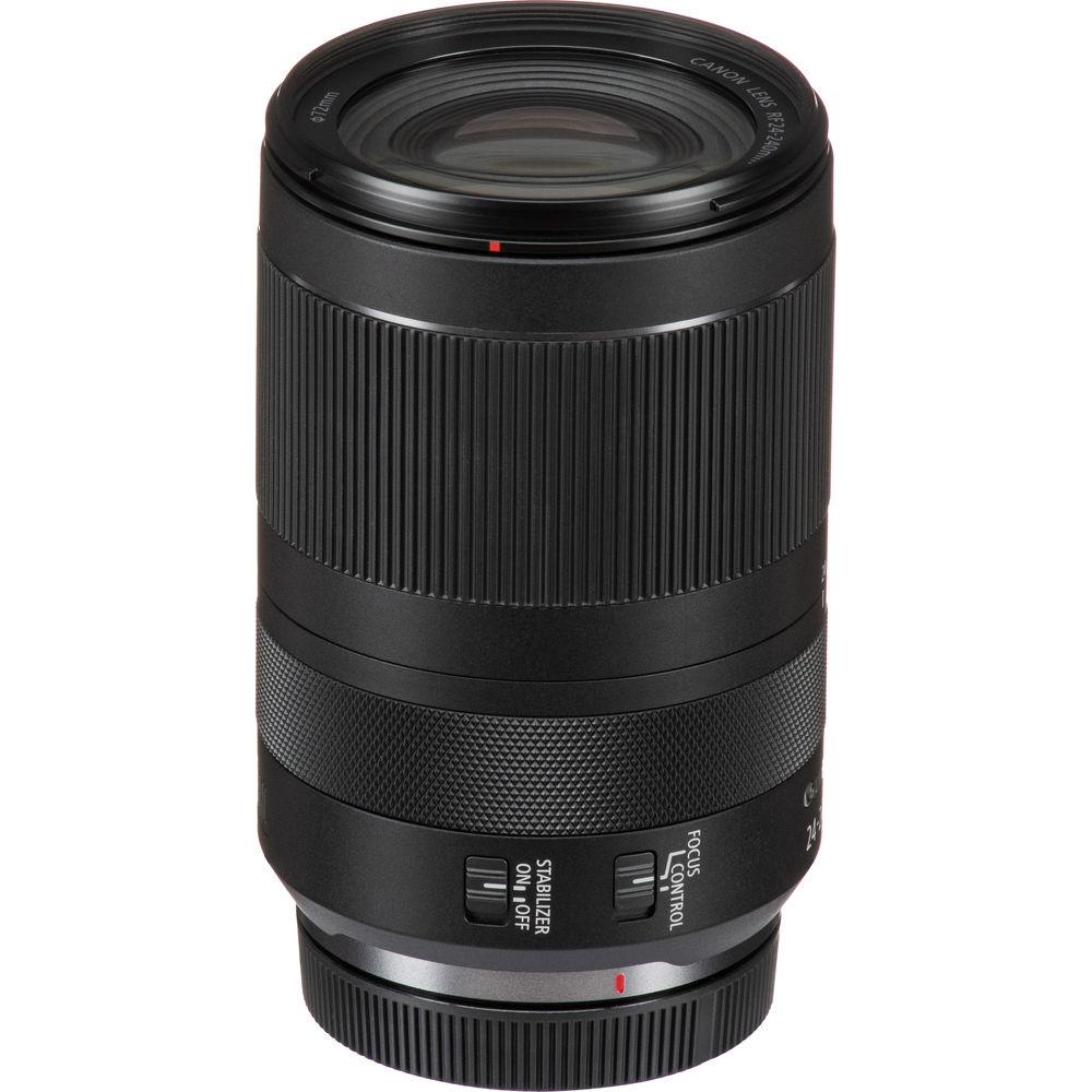 Canon RF 24-240mm f/4-6.3 IS USM – универсальный суперзум для полнокадровых беззеркалок Canon