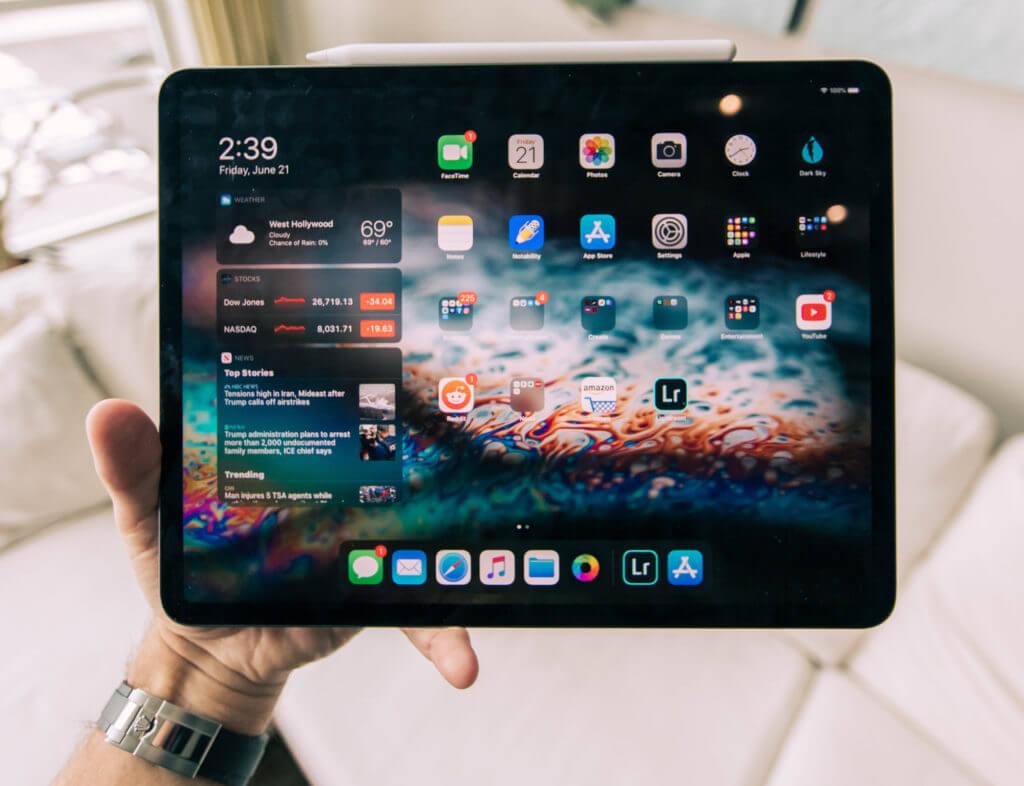 Сравнение iPad Pro 2020 и Microsoft Surface Pro 7