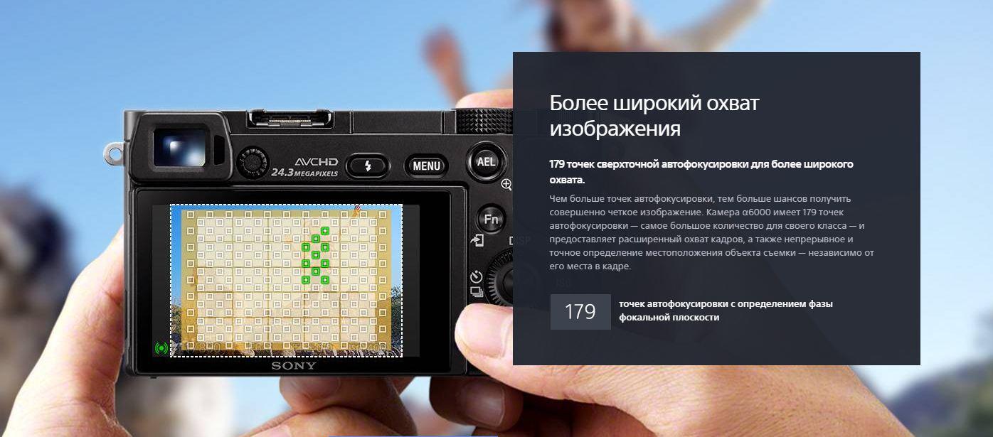 Sony 4D Focus: обзор технологии