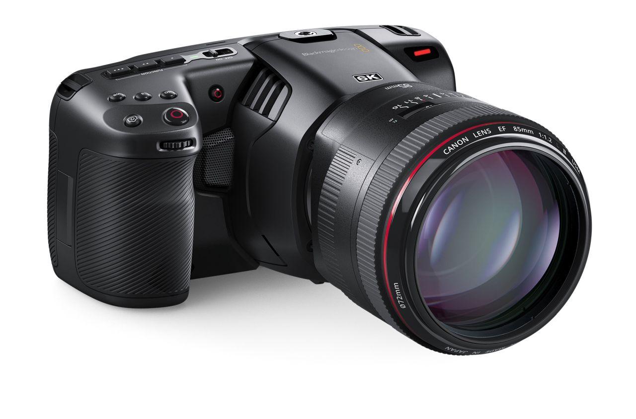 Видеокамера Pocket Cinema Camera 6K от Blackmagic Design: 6К на 50 к/с