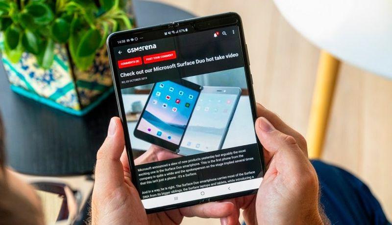 Samsung планирует значительно увеличить продажи складных смартфонов в 2020 году
