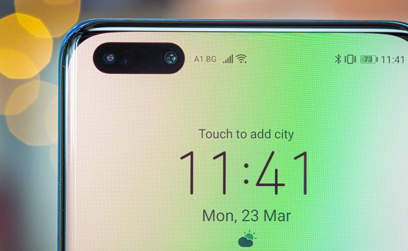 В линейке смартфонов Huawei P40 стоят лепестковые экраны
